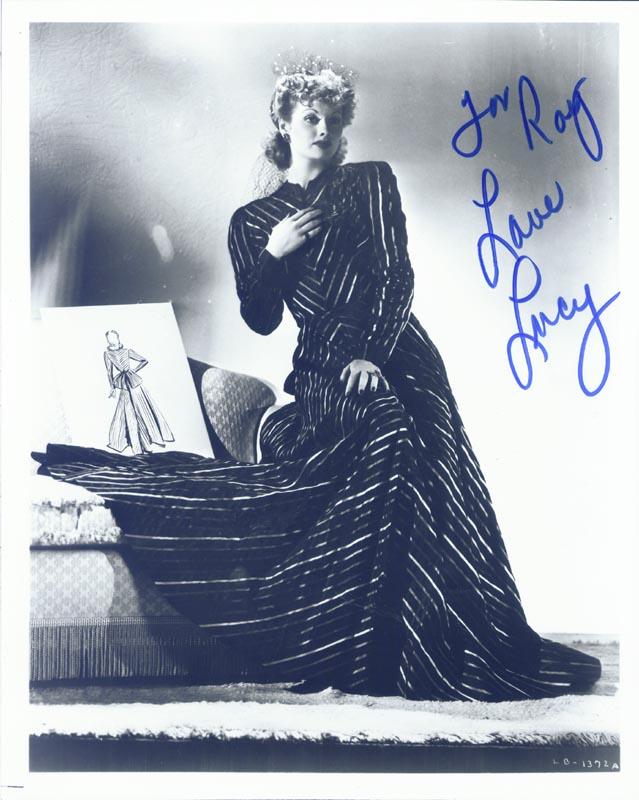Image 1 for Lucille 'Lucy' Ball - Autographed Inscribed Photograph - HFSID 191537