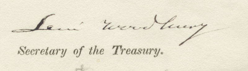 Image 3 for Associate Justice Levi Woodbury - Document Signed 11/30/1839 - HFSID 191836