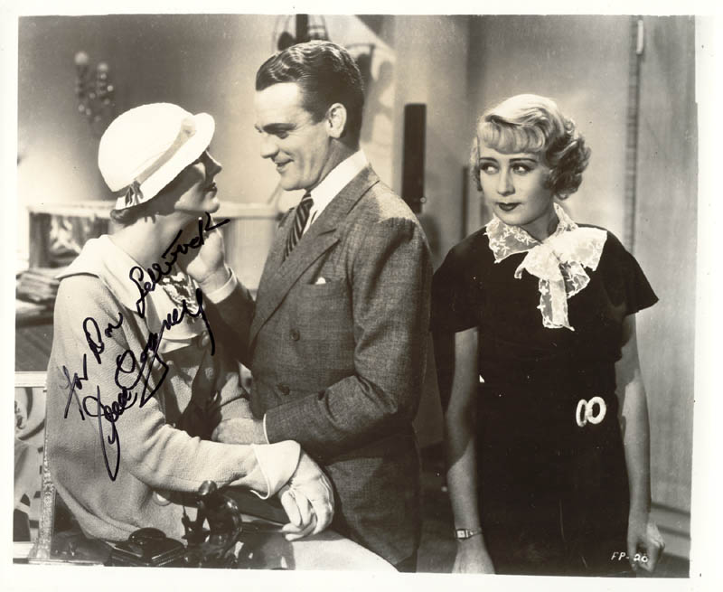 Image 1 for James Cagney - Autographed Inscribed Photograph - HFSID 19186
