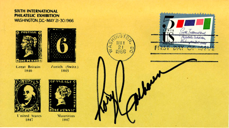 Image 1 for Rory Calhoun - First Day Cover Signed - HFSID 19188