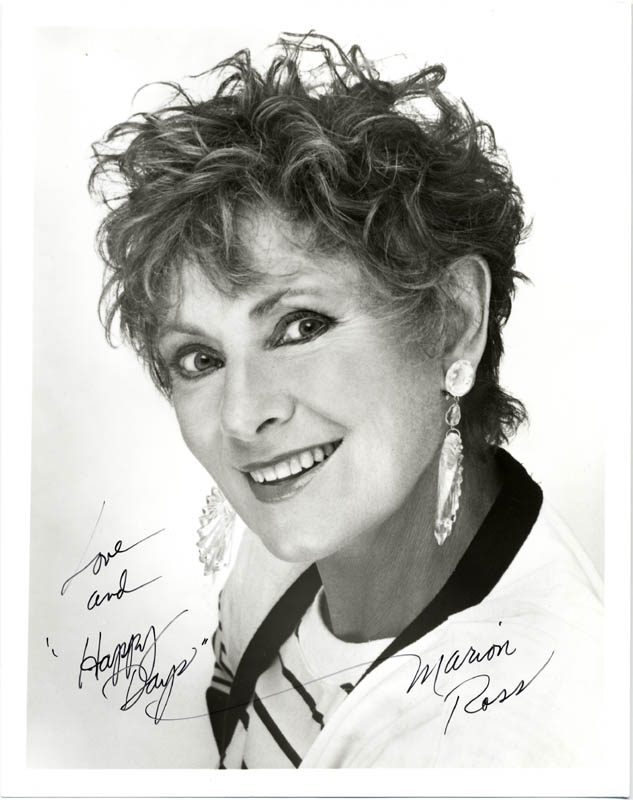 Image 1 for Marion Ross - Autographed Signed Photograph - HFSID 191913