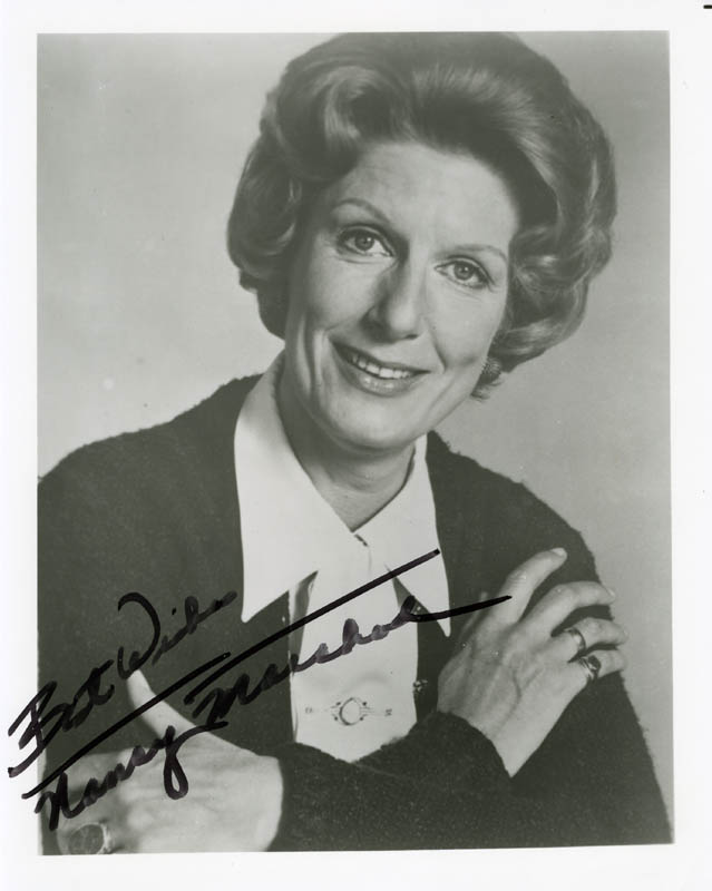 Image 1 for Nancy Marchand - Autographed Signed Photograph - HFSID 191967
