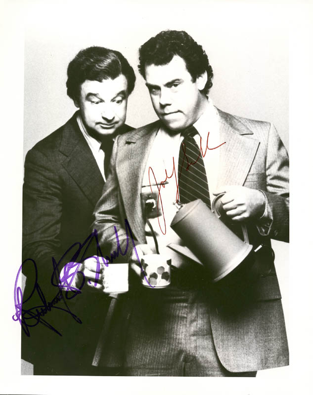 Image 1 for Holmes And Yo-yo TV Cast - Autographed Signed Photograph co-signed by: John Schuck, Richard B. Shull - HFSID 191991