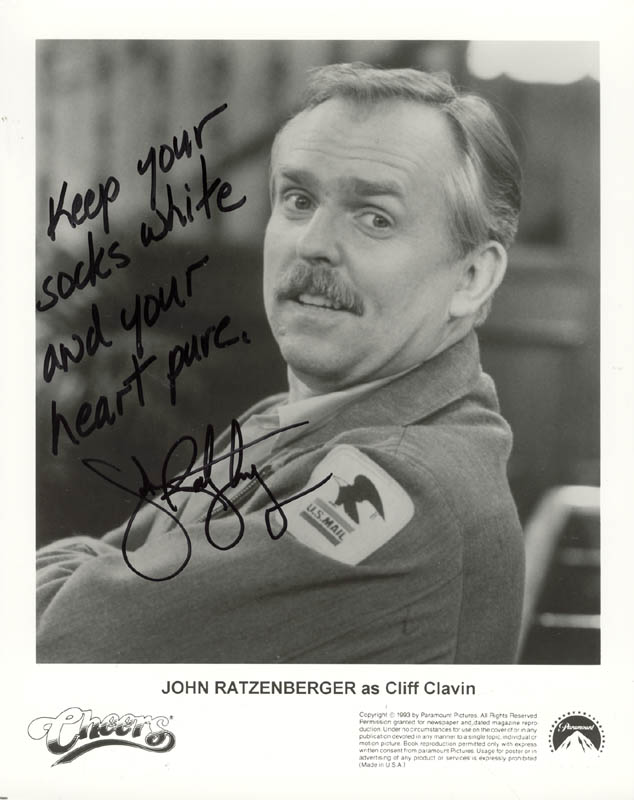 Image 1 for John Ratzenberger - Printed Photograph Signed In Ink - HFSID 192106