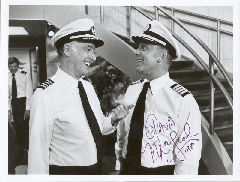 Image 1 for Gavin Macleod - Autographed Signed Photograph 1980 - HFSID 192150