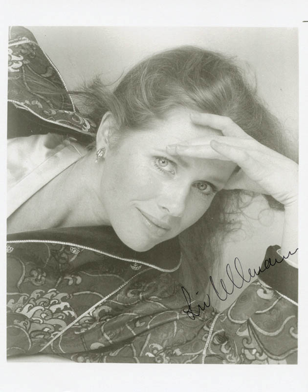 Image 1 for Liv Ullmann - Autographed Signed Photograph - HFSID 192262