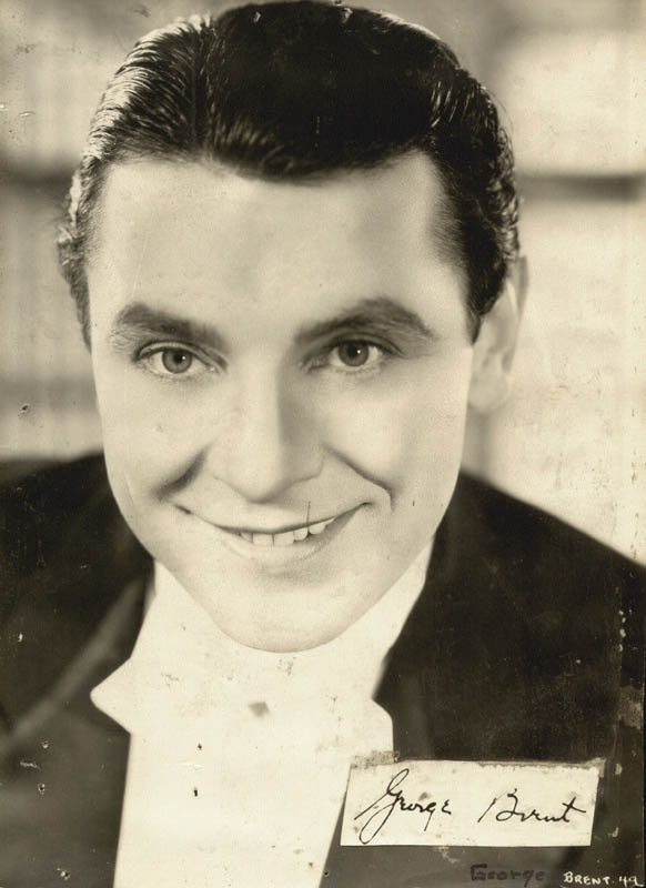 Image 1 for George Brent - Autograph - HFSID 19237