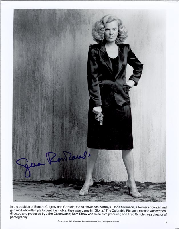 Image 1 for Gena Rowlands - Autographed Signed Photograph - HFSID 192452