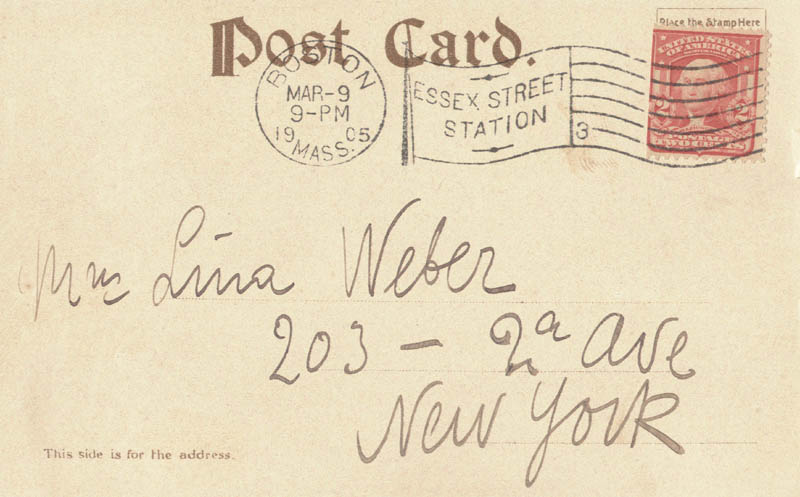 Image 3 for Enrico Caruso - Picture Post Card Signed Circa 1905 - HFSID 19260