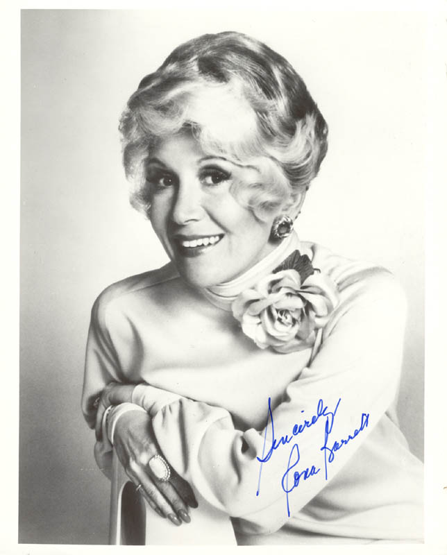 Image 1 for Rona Barrett - Autographed Signed Photograph - HFSID 192762