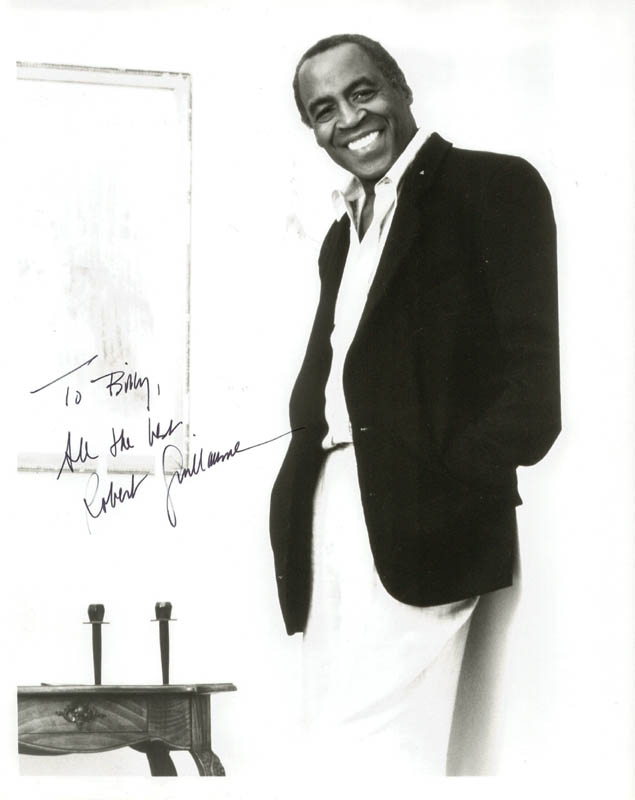 Image 1 for Robert Guillaume - Autographed Inscribed Photograph - HFSID 192825