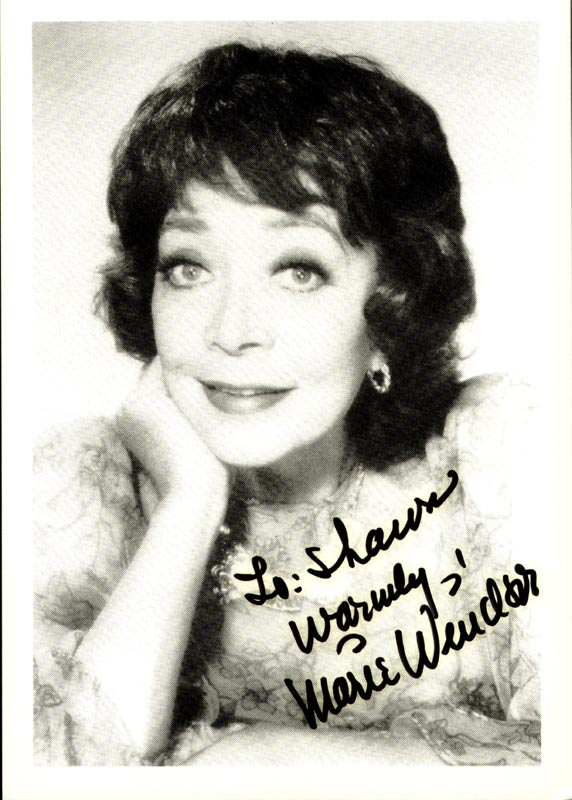 Image 1 for Marie Windsor - Autographed Inscribed Photograph - HFSID 192847