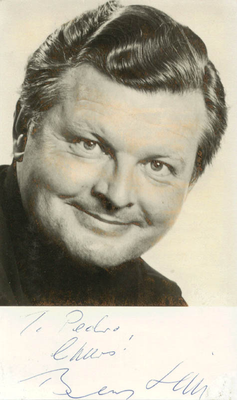 Image 1 for Benny Hill - Autographed Inscribed Photograph - HFSID 193028