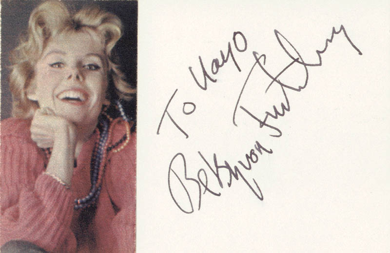 Image 1 for Baroness Betsy Von Furstenberg - Inscribed Signature - HFSID 19616