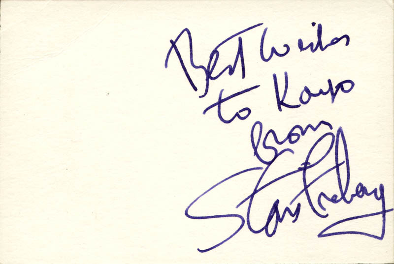 Image 1 for Stan Freberg - Autograph Note Signed - HFSID 19627