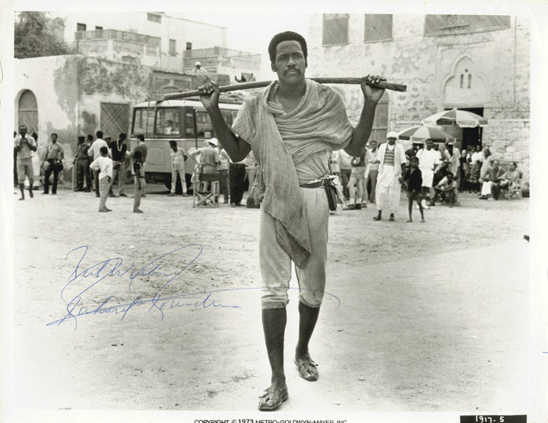 Image 1 for Richard Roundtree - Autographed Signed Photograph - HFSID 198192
