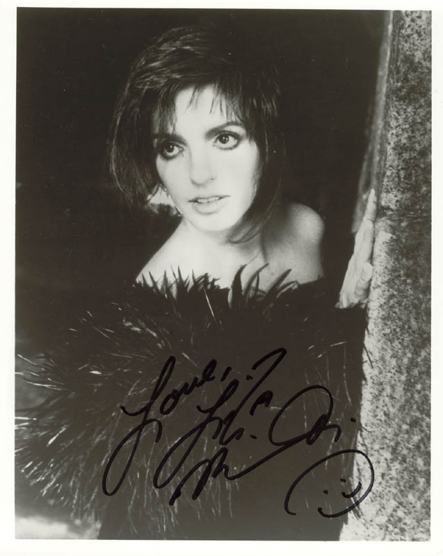 Image 1 for Liza Minnelli - Autographed Signed Photograph - HFSID 198442