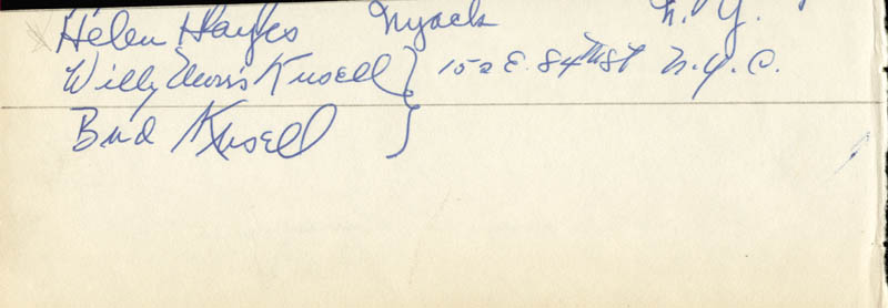Image 1 for Helen Hayes - Autograph co-signed by: Beatrice 'Honey' Zummach - HFSID 19860