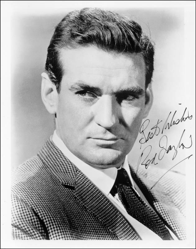Image 1 for Rod Taylor - Autographed Signed Photograph - HFSID 198669