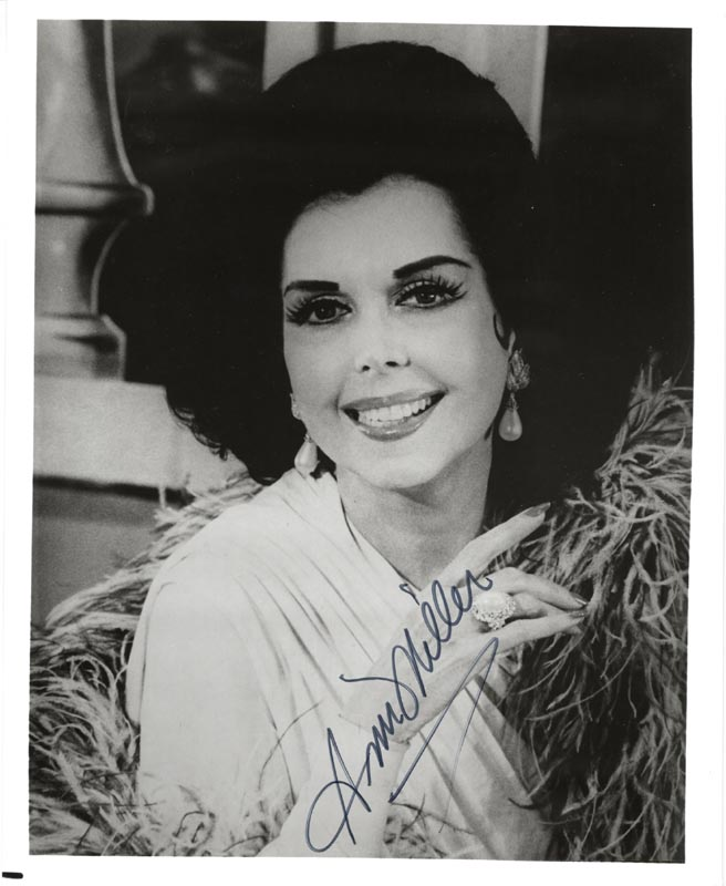 Image 1 for Ann Miller - Autographed Signed Photograph - HFSID 198720