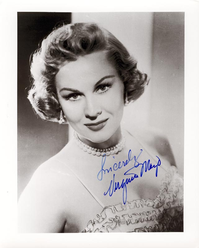 Image 1 for Virginia Mayo - Autographed Signed Photograph - HFSID 198730