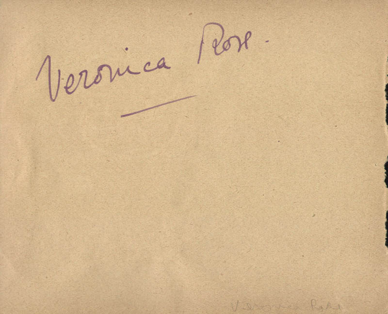 Image 3 for Celia Johnson - Autograph Sentiment Signed co-signed by: Veronica Rose - HFSID 19894