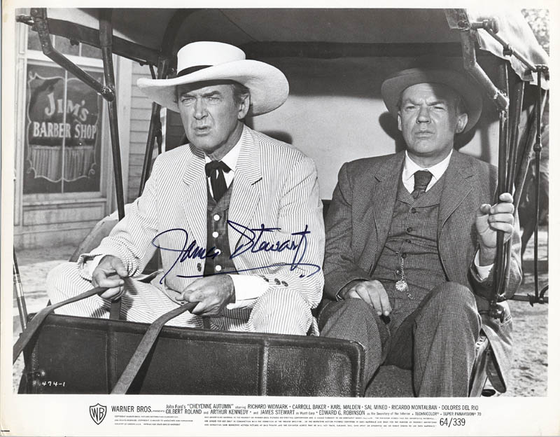 Image 1 for James 'Jimmy' Stewart - Autographed Signed Photograph - HFSID 198988