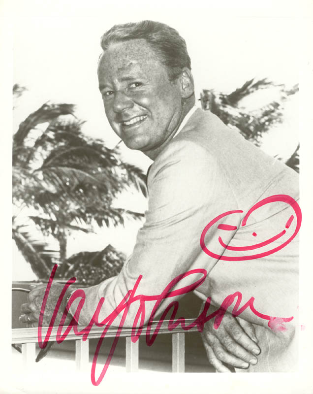 Image 1 for Van Johnson - Autographed Signed Photograph - HFSID 199035