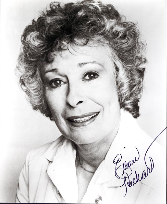 Image 1 for Eileen Heckart - Autographed Signed Photograph - HFSID 199083