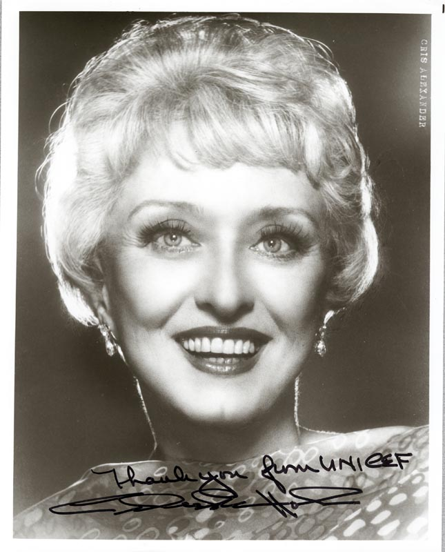 Image 1 for Celeste Holm - Autographed Signed Photograph - HFSID 199136