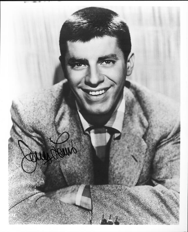 Image 1 for Jerry Lewis - Autographed Signed Photograph - HFSID 199159