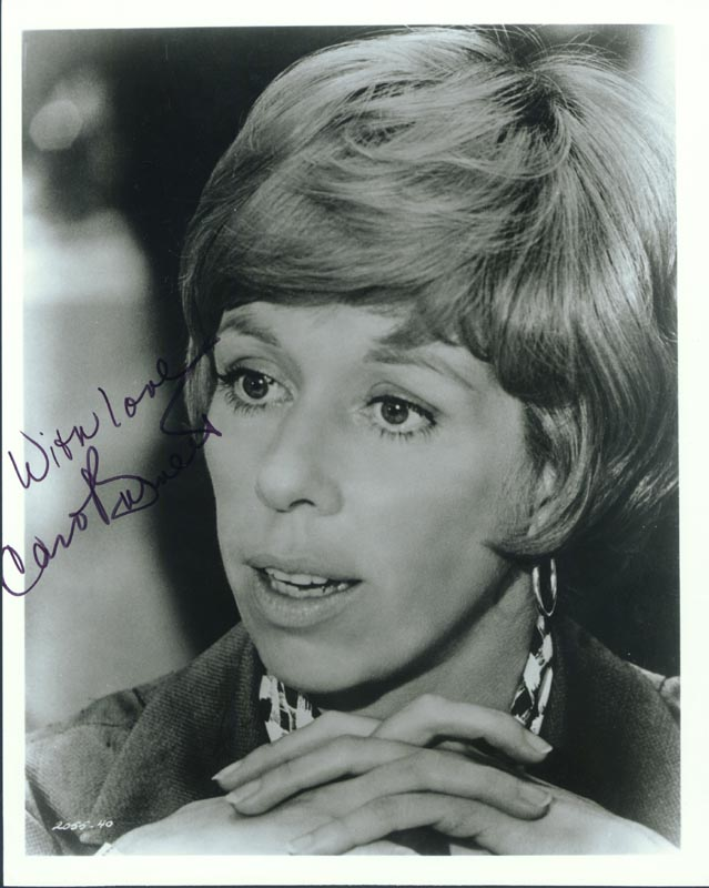 Image 1 for Carol Burnett - Autographed Signed Photograph - HFSID 199188