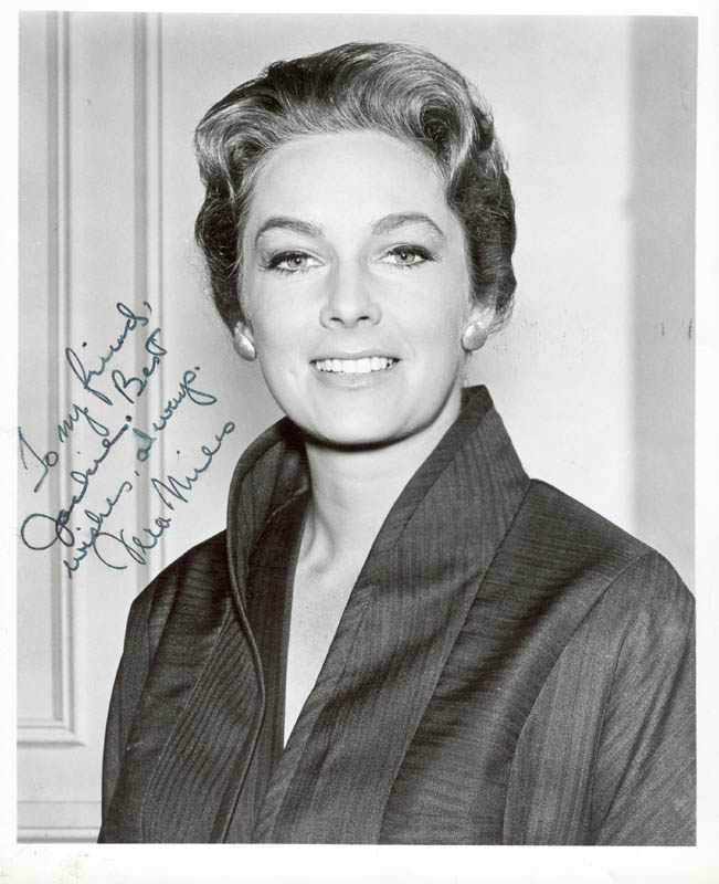 Image 1 for Vera Miles - Autographed Inscribed Photograph - HFSID 199272