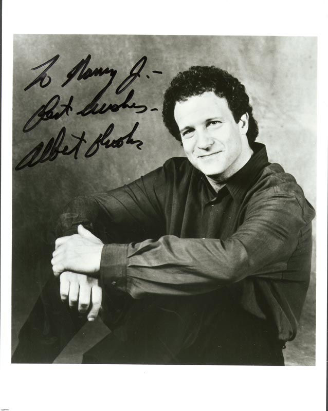 Image 1 for Albert Brooks - Autographed Inscribed Photograph - HFSID 199418