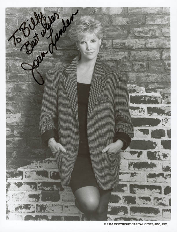 Image 1 for Joan Lunden - Autographed Inscribed Photograph - HFSID 199644