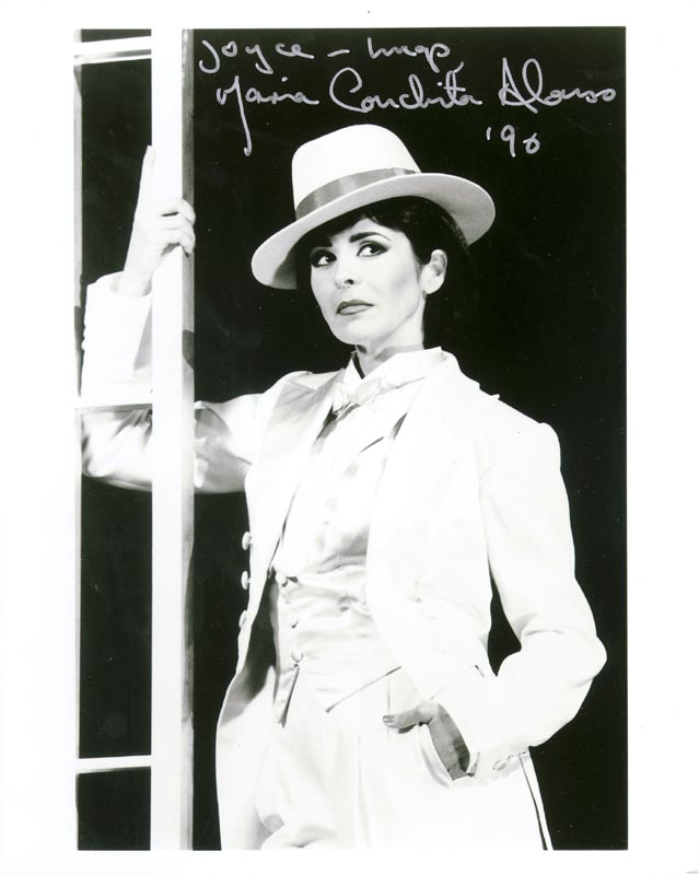 Image 1 for Maria Conchita Alonso - Autographed Signed Photograph 1990 - HFSID 199650