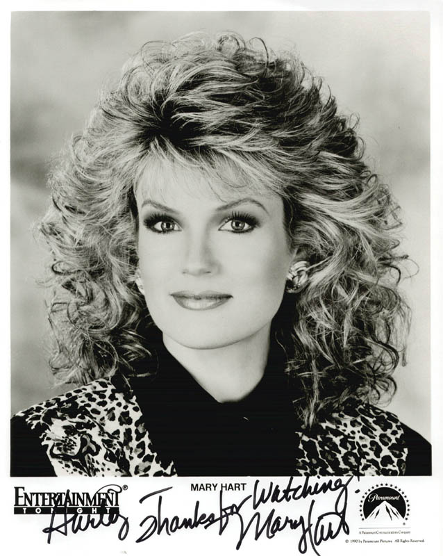 Image 1 for Mary Hart - Inscribed Printed Photograph Signed In Ink - HFSID 199667