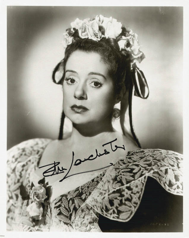 Image 1 for Elsa Lanchester - Autographed Signed Photograph - HFSID 19988