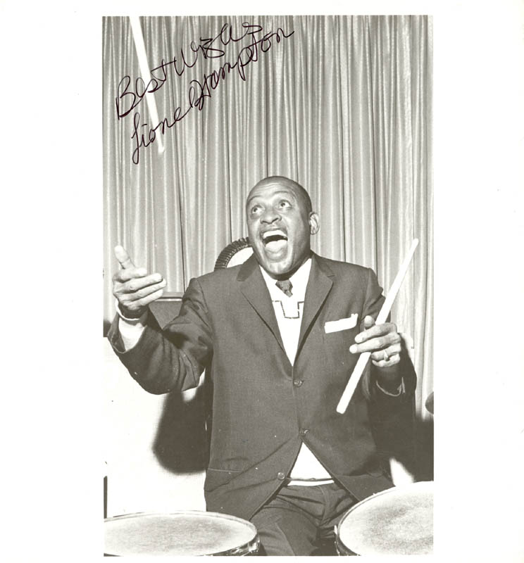 Image 1 for Lionel Hampton - Autographed Signed Photograph - HFSID 199924