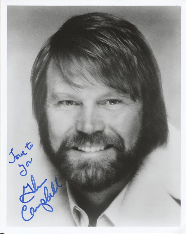 Image 1 for Glen Campbell - Autographed Signed Photograph - HFSID 200030