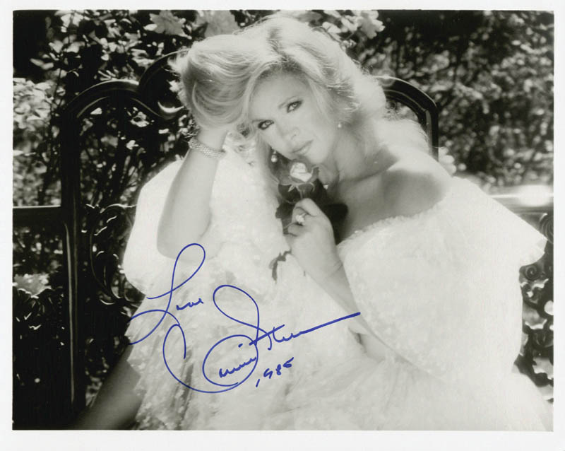 Image 1 for Connie Stevens - Autographed Signed Photograph 1985 - HFSID 200142