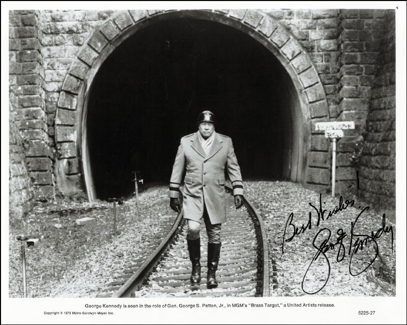 Image 1 for George Kennedy - Printed Photograph Signed In Ink - HFSID 200461