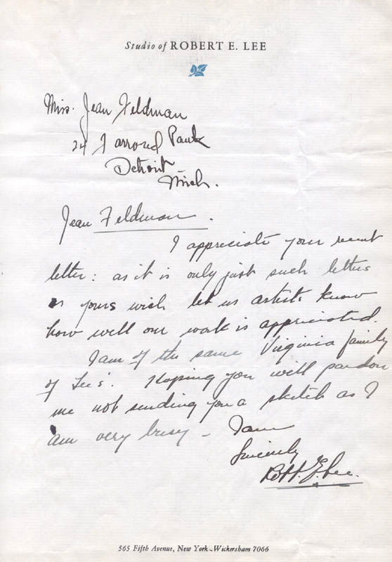 Image 1 for Robert Edmund Lee - Autograph Letter Signed - HFSID 200608