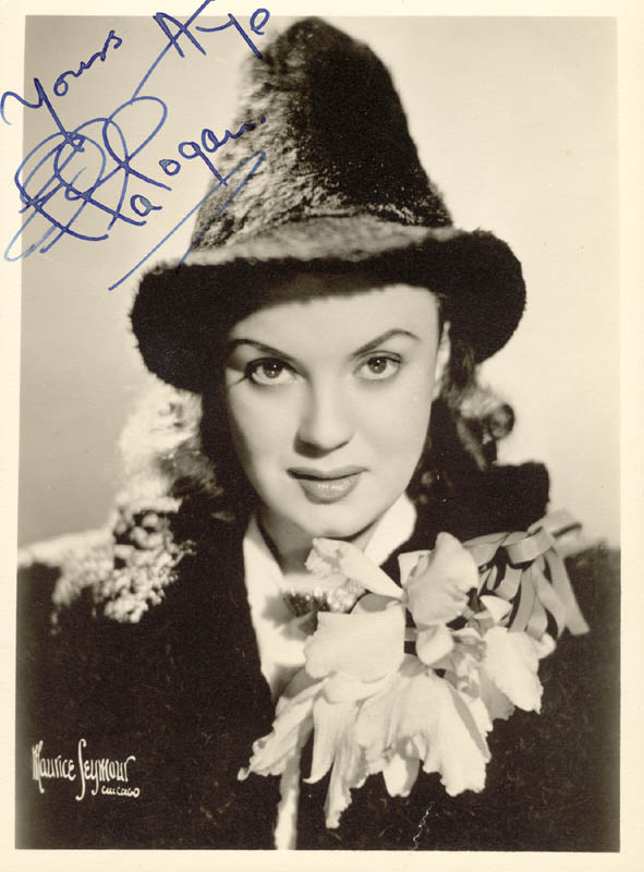 Image 1 for Ella Logan - Autographed Signed Photograph - HFSID 20076