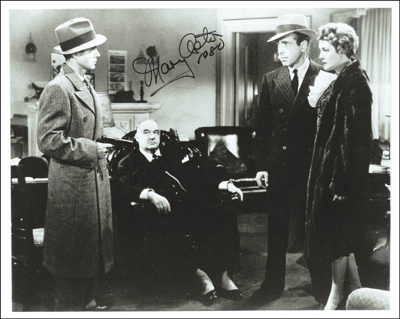 Image 1 for Mary Astor - Autographed Signed Photograph 1980 - HFSID 20077
