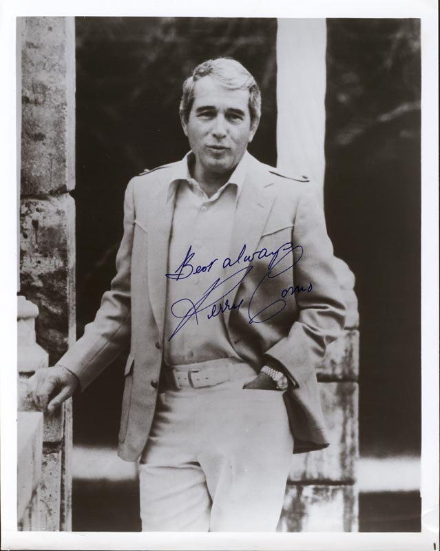 Image 1 for Perry Como - Autographed Signed Photograph - HFSID 201263