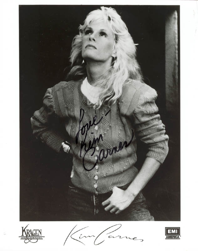 Image 1 for Kim Carnes - Autographed Signed Photograph - HFSID 201266