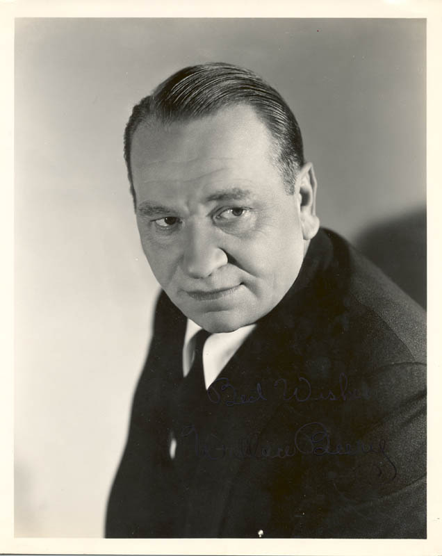 Image 1 for Wallace Beery - Autographed Signed Photograph - HFSID 20138