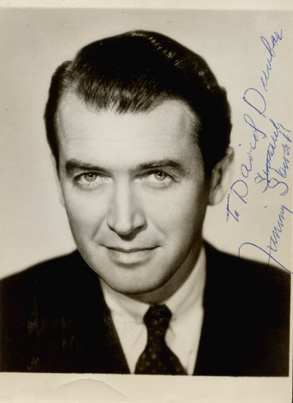 Image 1 for James 'Jimmy' Stewart - Autographed Inscribed Photograph - HFSID 20162