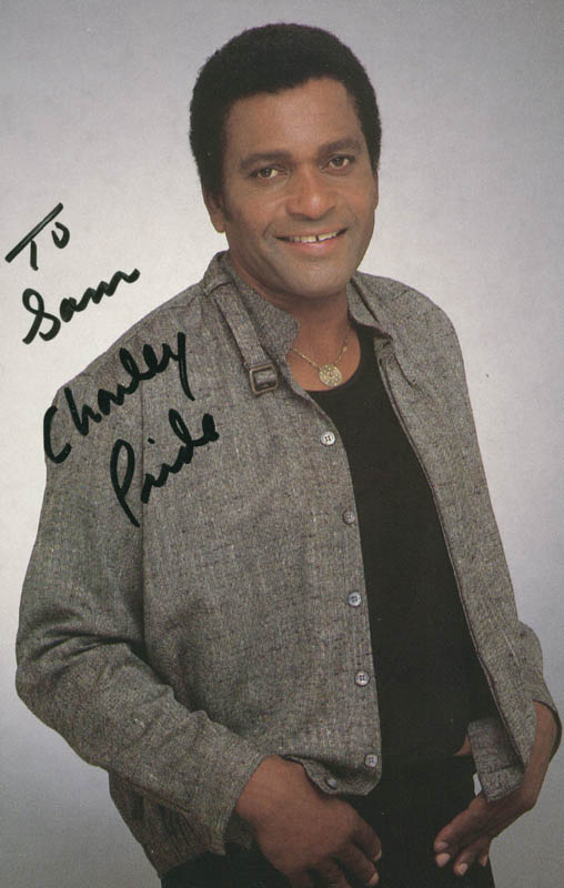 Image 1 for Charley Pride - Inscribed Picture Postcard Signed - HFSID 201950
